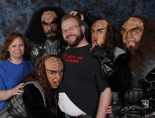 Chiclo gets assaulted by Klingons