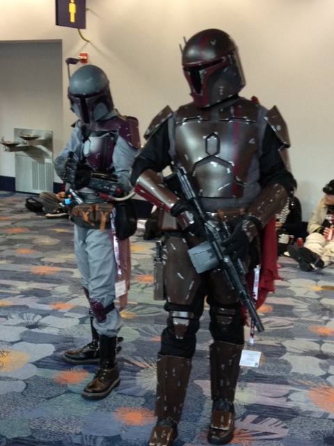 Mandalorians on patrol
