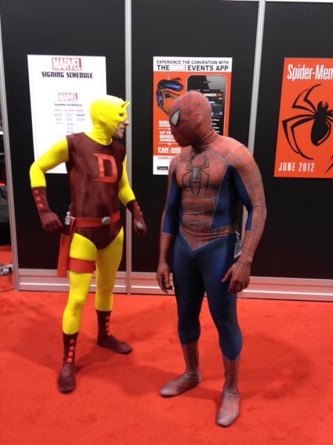 Daredevil and Spider-Man