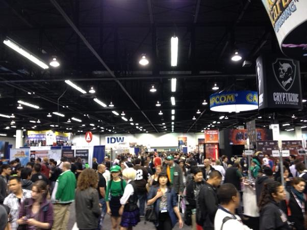 Wondercon Convention Hall on Saturday